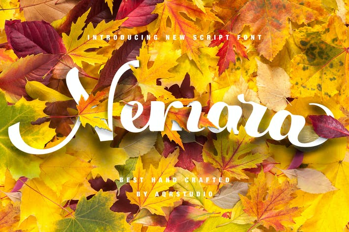 Thumbnail for Nemara Script Font