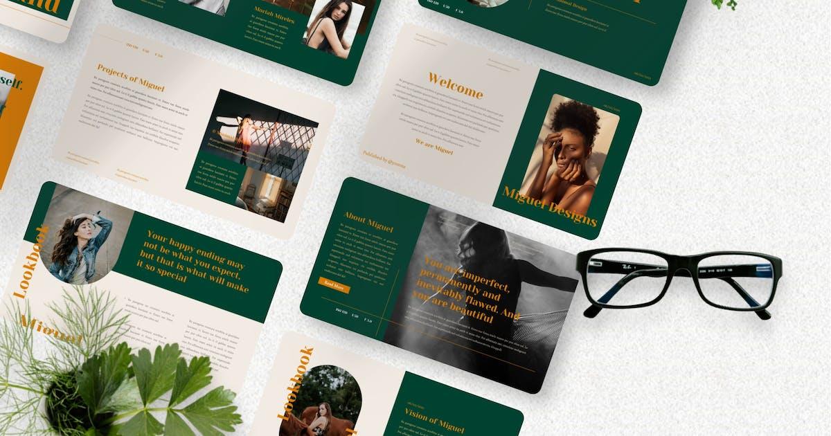 Download Miguel - Minimal Keynote Template by Yumnacreative
