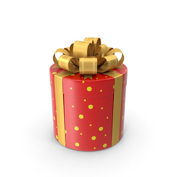 Thumbnail for Cylindrical Gift Box