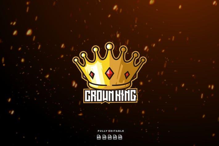 Crown King Gold Queen Logo