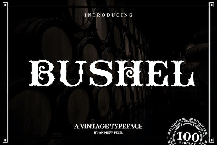 Thumbnail for Bushel - A vintage Flourish Font