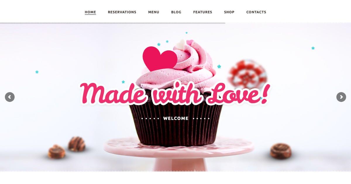 Download Bakery / Cake Shop / Cafe WordPress Theme by ThemeREX