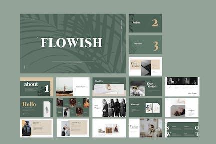 Flowish Portofolio Slide