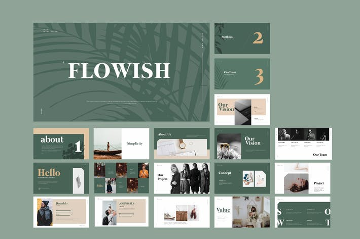Thumbnail for Flowish Portofolio Slide