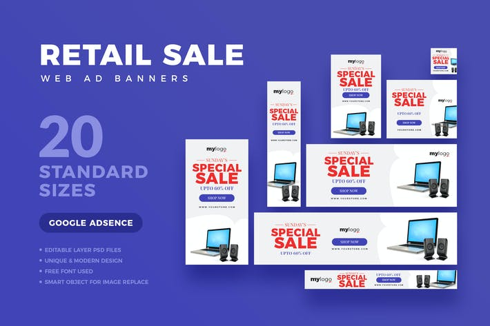 Thumbnail for Retail Sale Web Ad Banner
