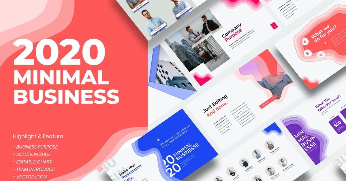 Download 2020 Business Presentation Template - JJ by templatehere