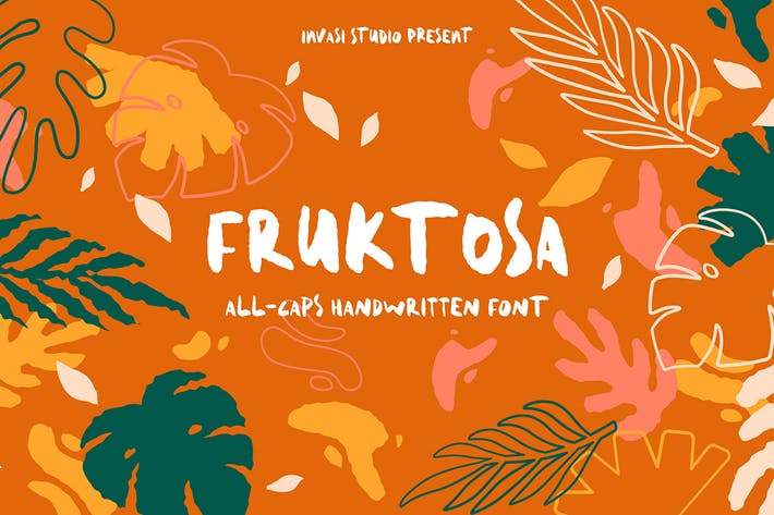 Thumbnail for Fruktosa | Display Font