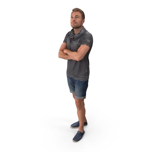 Freetime Man Posed