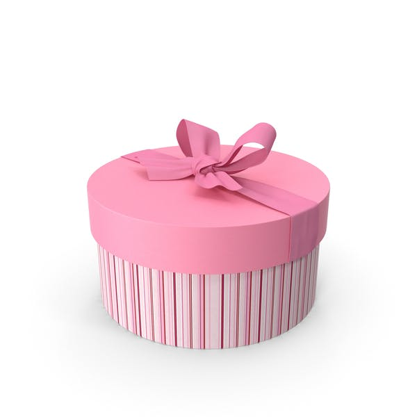 Thumbnail for Round Pink Giftbox