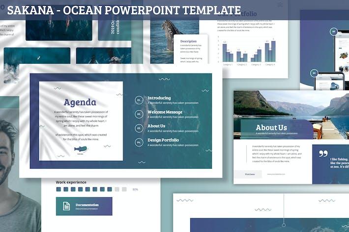 Thumbnail for Sakana - Ocean Powerpoint Template