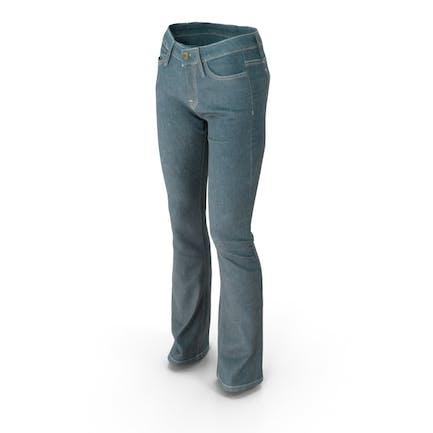 Damen Jeansblau