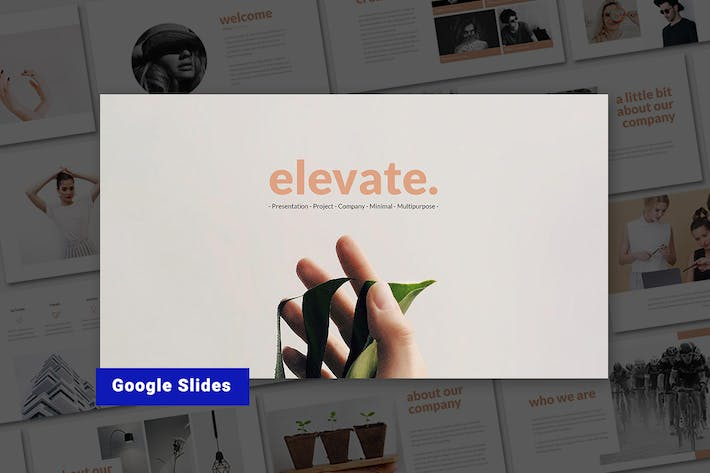 Thumbnail for Elevate - Google Slides Template