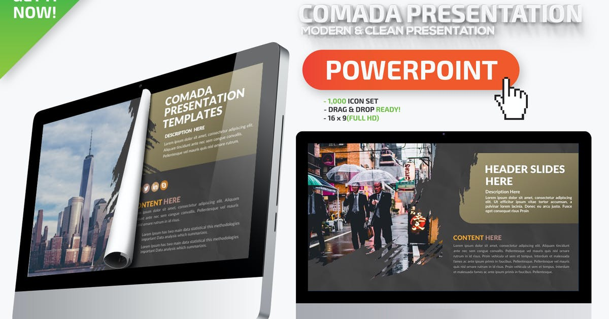 Download Comada Powerpoint Presentation by mamanamsai