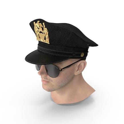Male Police Head