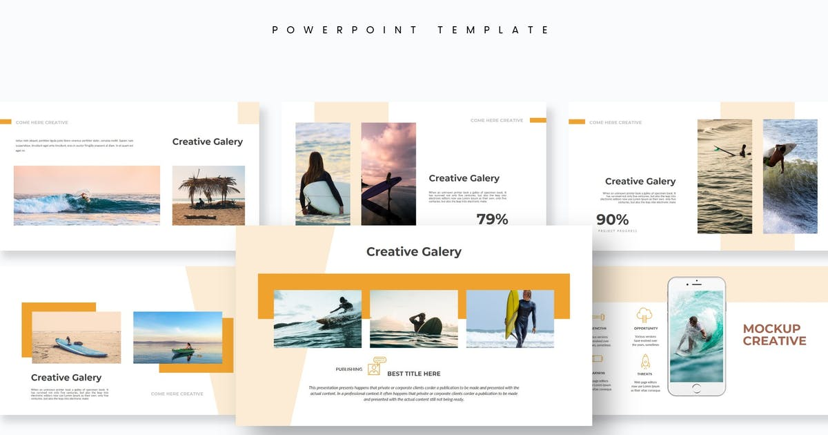 Download Comehere - Powerpoint Template by aqrstudio