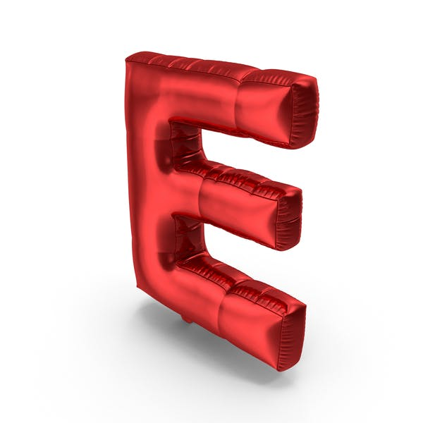 Foil Balloon Letter E