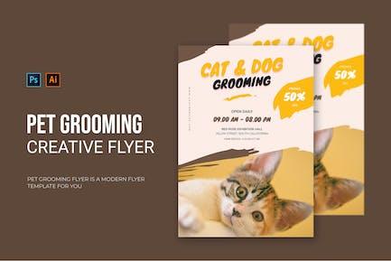 Pet Grooming - Flyer
