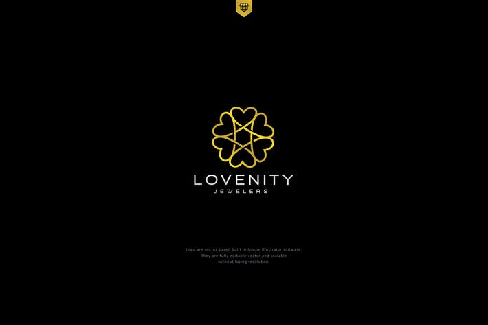 Infinity love logo by designhatti on envato elements cover image for infinity love logo altavistaventures Images