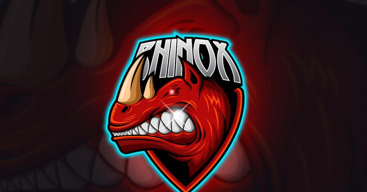 Download Rhino - Mascot & Esport Logo by aqrstudio