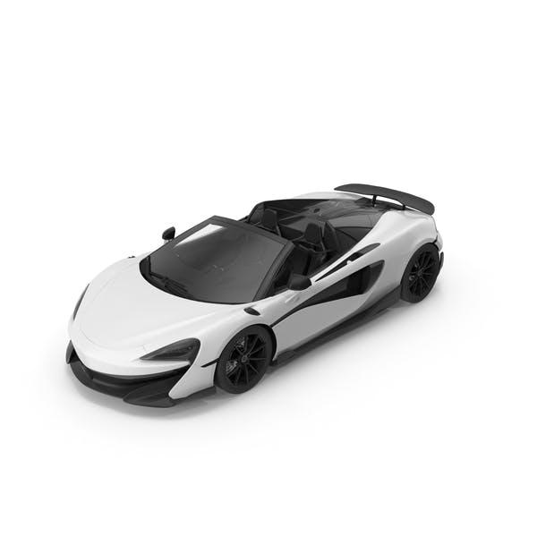 Sports Car White