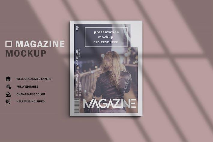 Thumbnail for Magazine Mockup V.1