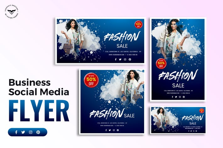 Thumbnail for Fashion Sale Social Media Template