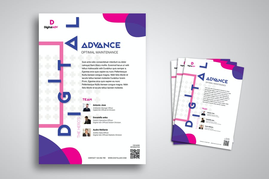 Seminar and Workshop Flyer Promo Template