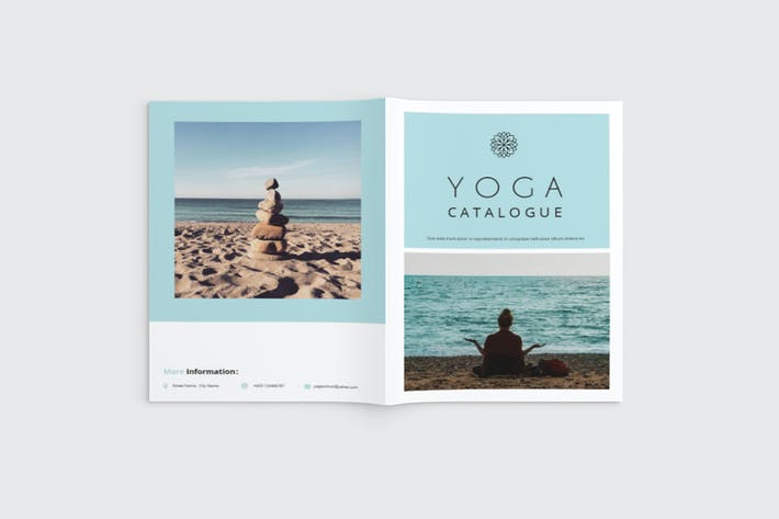 Thumbnail for Namaste - A4 Yoga Brochure Template