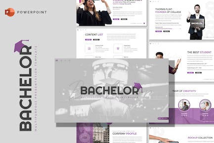 Bachelor - Education Powerpoint Template