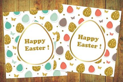 Golden Glitter Easter Kit