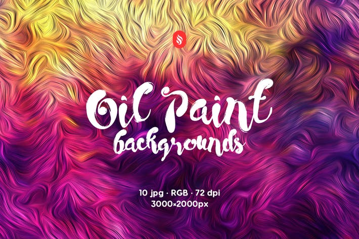 Thumbnail for Oil Paint Backgrounds