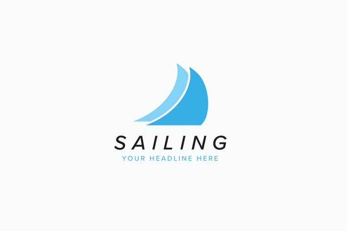 Thumbnail for Sailing Logo Template
