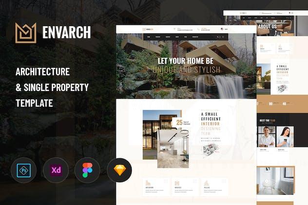EnvArch - Architecture & Single Property Template