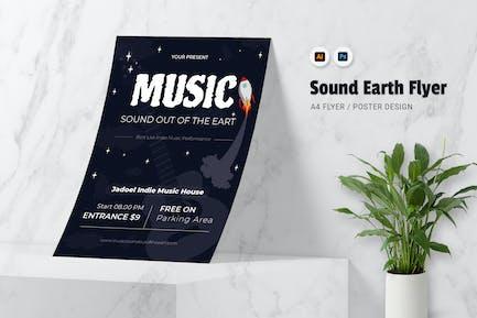 Der Klang der Erde Flyer