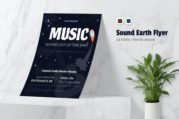 Sound Of The Earth Flyer
