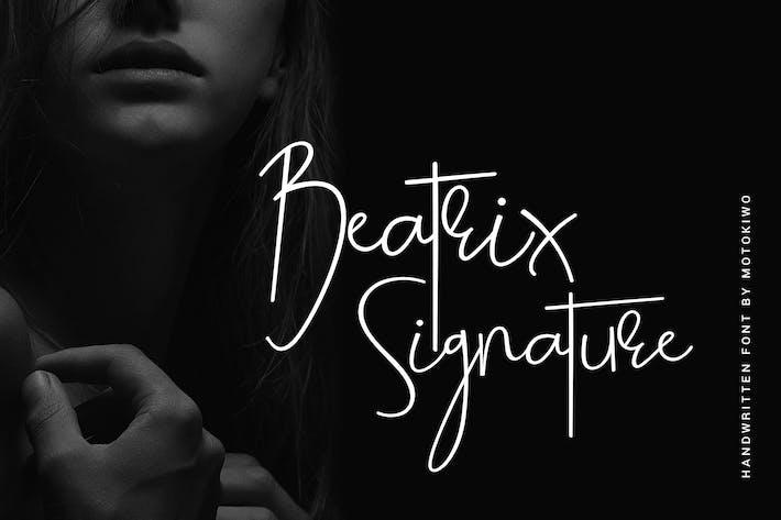 Thumbnail for Beatrix Signature