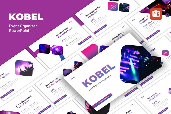 Thumbnail for Kobel - Event Organizer PowerPoint Template