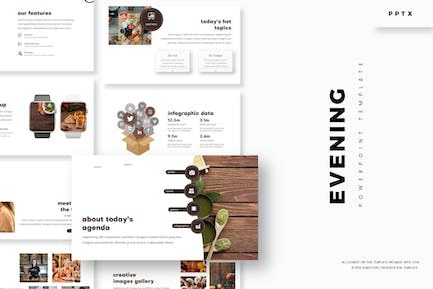 Evening Party - Powerpoint Template