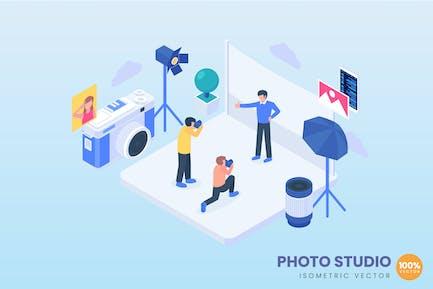 Ilustración del concepto de estudio foto