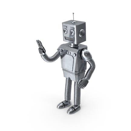 Roboter winken