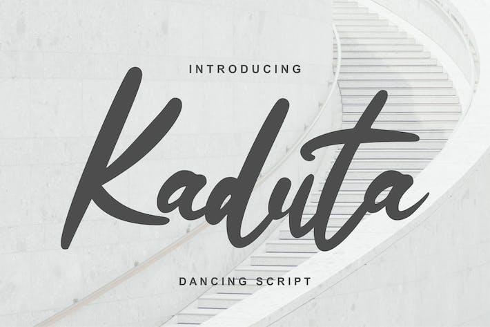 Thumbnail for Kaduta | Dancing Script Font