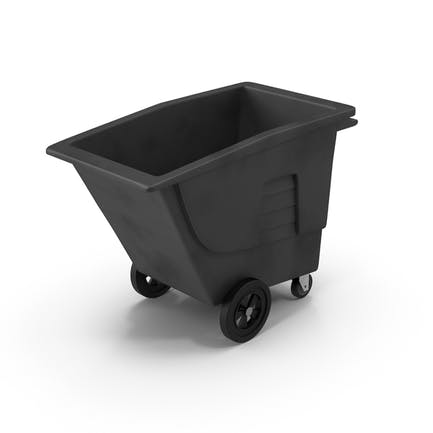 Large Rolling Garbage Can