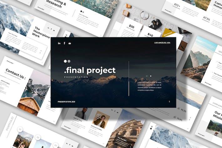 Final Project - Company Business Presentation Powe