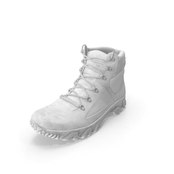 Ботинок белый