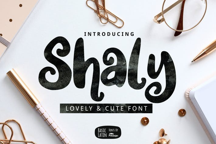 Thumbnail for Shaly Cute Font