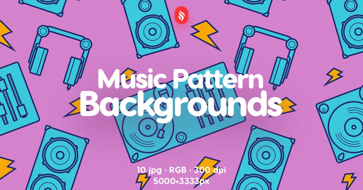Download Music Pattern Backgrounds by themefire