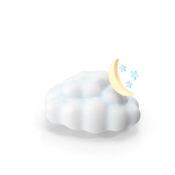Thumbnail for Weather Forecast Night Partly Cloudy