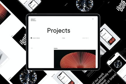 Delia | HTML Template For Freelancer