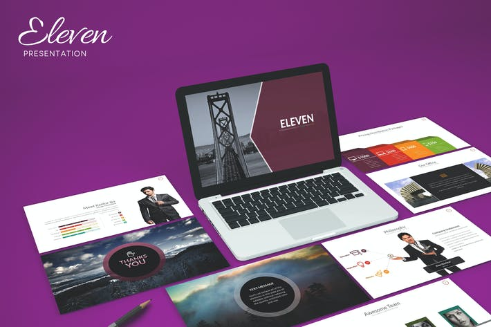 Thumbnail for Eleven - Powerpoint Template