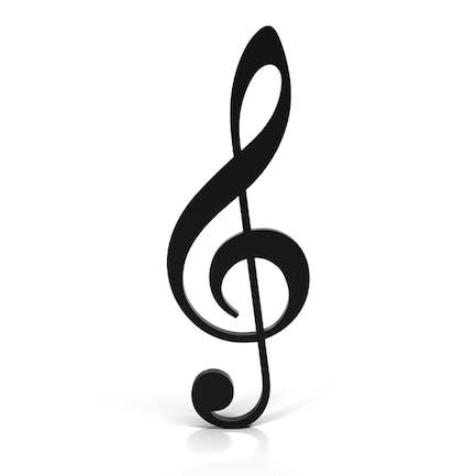 Violinschlüssel (G-Schlüssel)